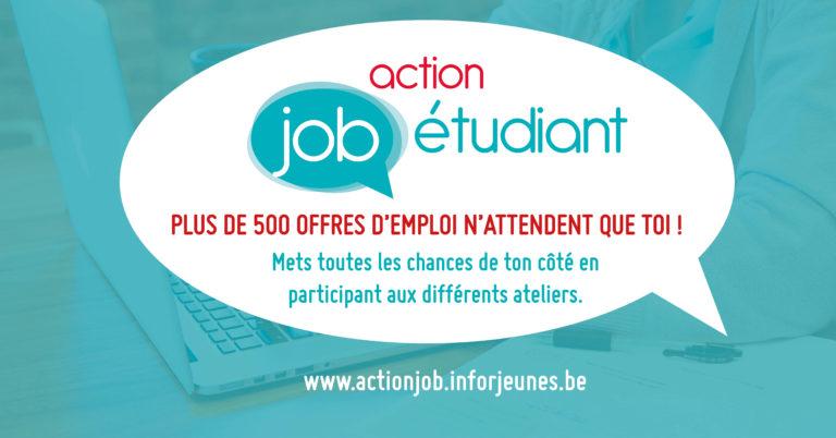 Action Job Etudiant – Mets toutes les chances de ton côté !