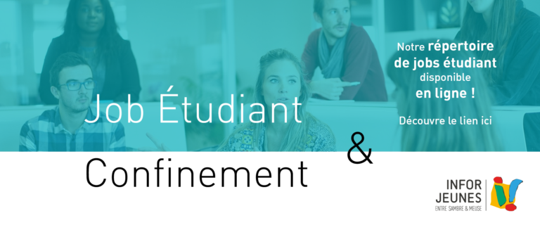 Job étudiant et confinement