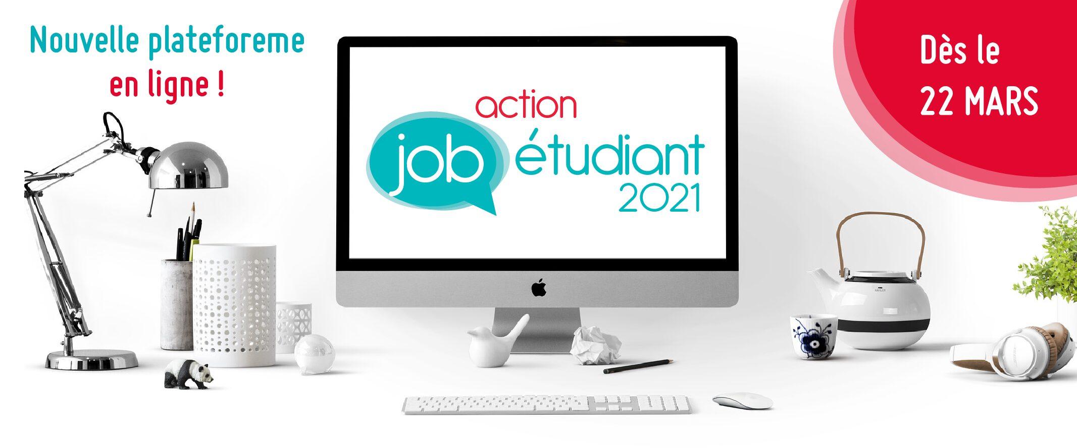 Action Job Etudiant 2021 – Nouvelle formule !